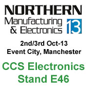CCS Electronics Stand E46 - Northern Manufacturing 2013